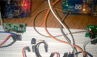 RF 433 MHz transmitter-receiver module and arduino | eprojectszone