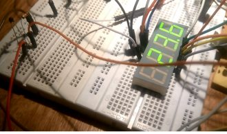 Measuring temperature with an arduino and an NTC thermistor