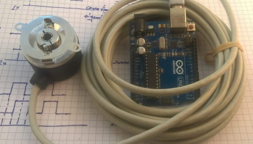 Industrial incremental encoder and arduino   eprojectszone